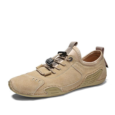 Men's Leather Handmade Soft Casual Shoes