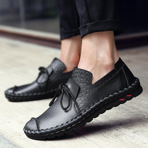 Men's Business Handmade Breathable Driving Shoes