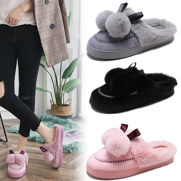 Women's Cotton Slipper Shoes