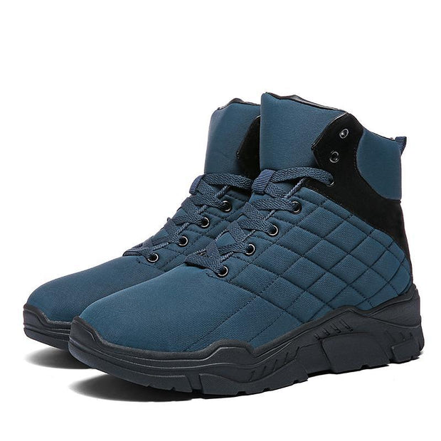 Men's Waterproof Anti-slip Warm Snow Boots - pearlzone