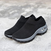 Women Slip-on Casual Creepers Shock Shoes