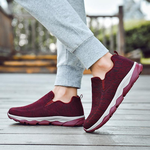 Women's Middle-aged Soft Bottom Non-slip Walking Shoes