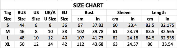 casual loose o-neck dress size chart