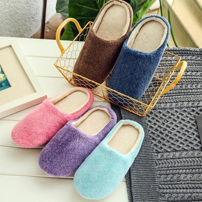Claudette Soft Plush Slippers