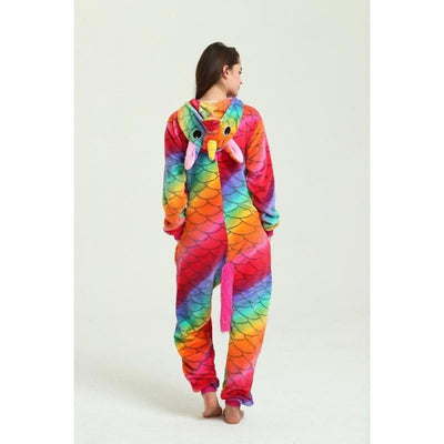 Fish Scale Unicorn 2 - Animal Pajama Cosplay Unisex
