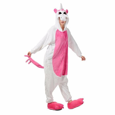 Pink Unicorn - Animal Pajama Cosplay Unisex