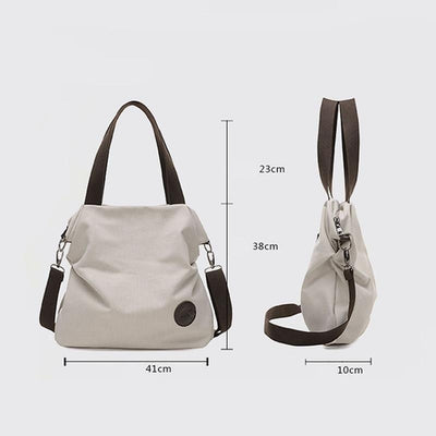 Small Betty Casual Canvas Shoulder Bag