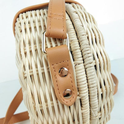 Circle Fair Straw Bag