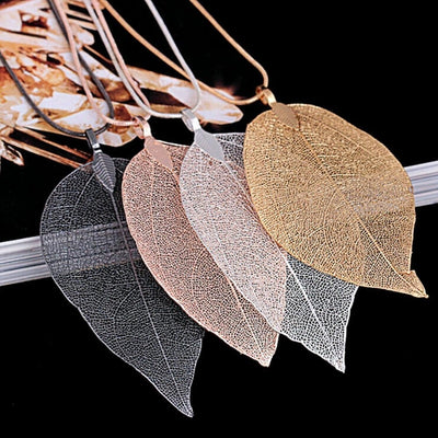 Fallen Leaf Necklace