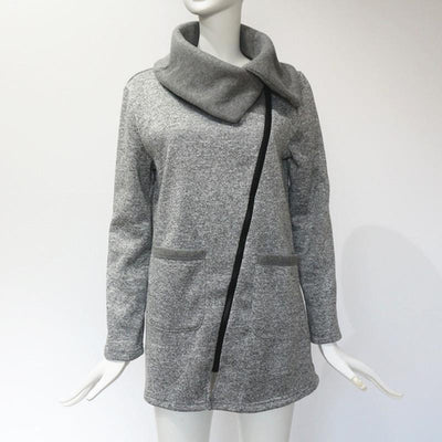 Freya - Coat Outerwear with Zipper
