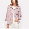 Sheila Boyfriend Ripped Denim Jacket