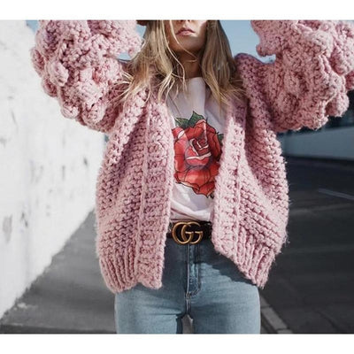 Bubble Knitted Sweater