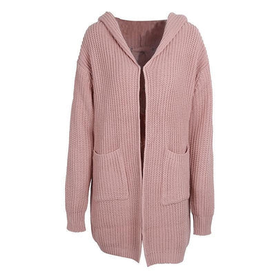 Hooded Autumn Cardigan