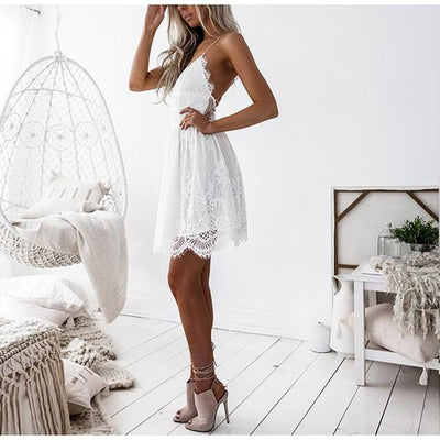 Juliet  Elegant Lace Dress