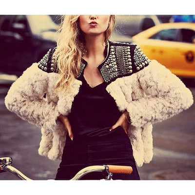 Punk Fur Jacket