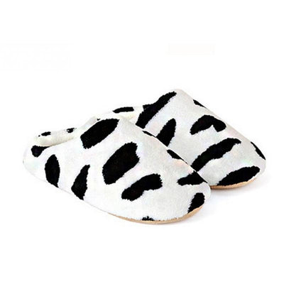 Couple Slippers Cow Style