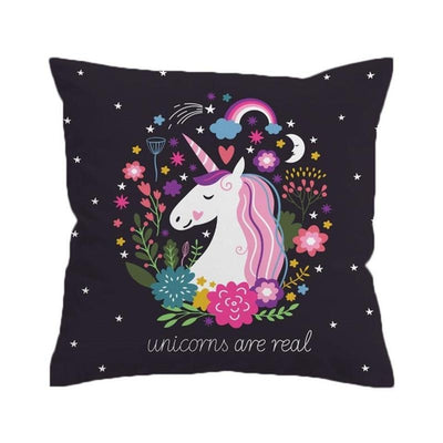 Unicorn - Boho Cushion Cover