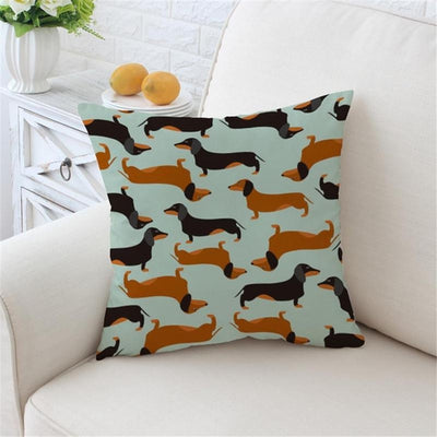 Dachshunds  - Boho Cushion Cover