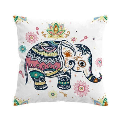 Elephant - Boho Cushion Cover