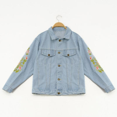 Flower Fresh Denim Jacket