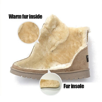 Warm Beautiful Plush Boots