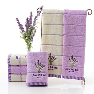 Lavender Set - Herbs Towels Collection