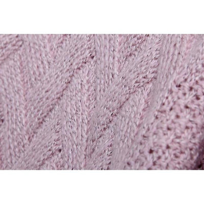 Fuzzy Knitted Mohair Sweater