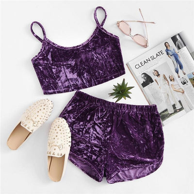Noemi Velvet Women Set