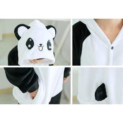 White Panda - Women Cosplay Pajama Costume