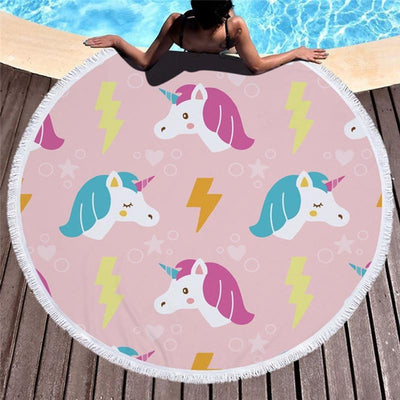 Pink Power - Fantastic Unicorns Towel Collection