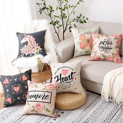 Soul Series Decorative Pillowcase - Heart