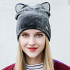 Autumn Cat Hat Ladies