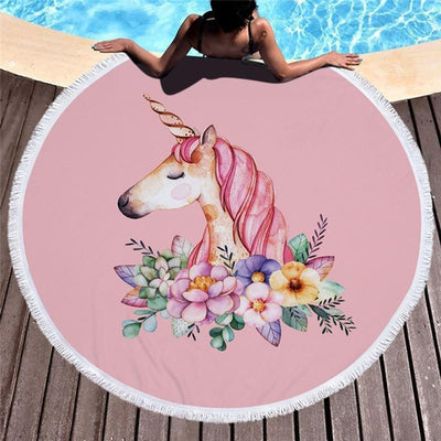 Pink Lotus - Fantastic Unicorns Towel Collection