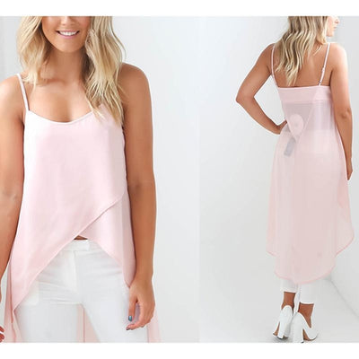 Unique Chiffon Top Dress
