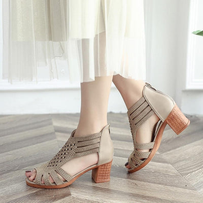 Fiore Crystal Strap Sandals