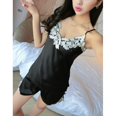 Feminine Satin Pajama Set  7 Color