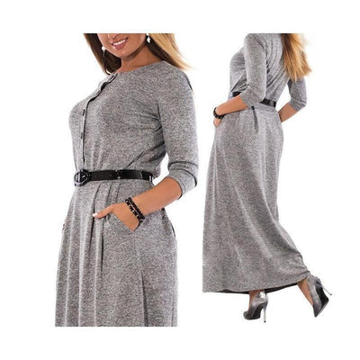 Robe Elegant Long Dress