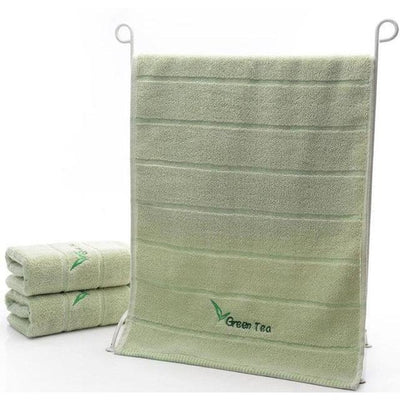 Green Tea Set -  Herbs Towels Collection