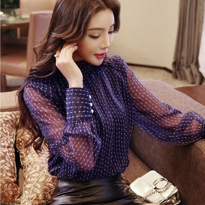 Levite Long Sleeve Blouse