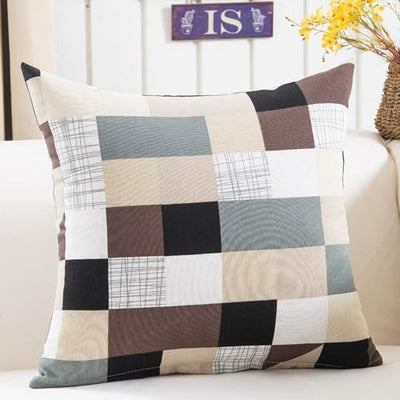 Colorful Geometry Cushion Cover Collection