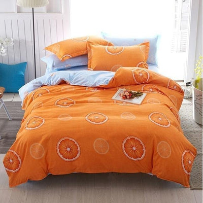 Cosy Oranges - Dream Bedding Collection