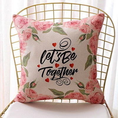 Soul Series Decorative Pillowcase - Be Together