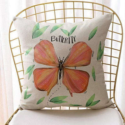 Soul Series Decorative Pillowcase -  Butterfly