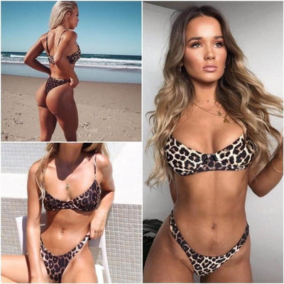 Charlotte Animal Printed Bikinis