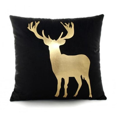 Black And Gold Cushion Cover Collection