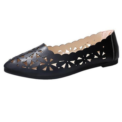 Doroties Cute Flats Shoes with Hollow
