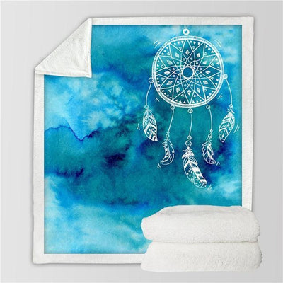 Dream Catcher Sherpa Warm Blanket