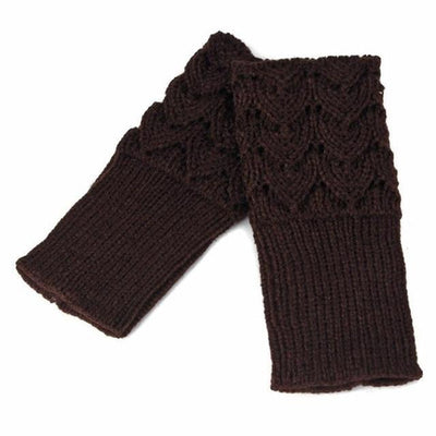 Venus Knitting Fingerless Gloves