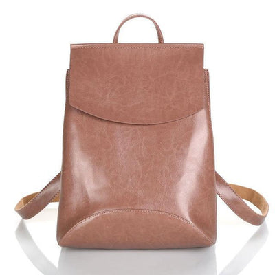 Vozie Leather Backpack