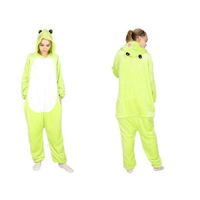 Frog - Women Cosplay Pajama Costume